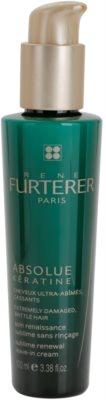 Rene Furterer Absolue Kératine lemosást nem igénylő megújító krém a nagyon károsult hajra
