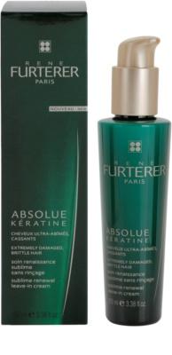 Rene Furterer Absolue Kératine obnovitvena krema brez spiranja za ekstremno poškodovane lase 1