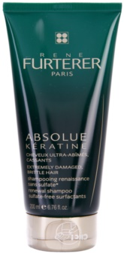 Rene Furterer Absolue Kératine champô renovador para cabelo extremamente danificado