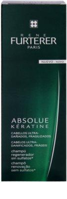 Rene Furterer Absolue Kératine szampon odbudowujący włosy do włosów ekstremalnie zniszczonych 2