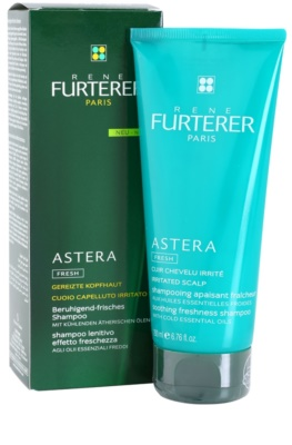 Rene Furterer Astera Soothing Freshness Shampoo With Cold Essential Oils, Irritated Scalp 1