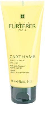 Rene Furterer Carthame maseczka nawilżająco - odżywcza do włosów suchych