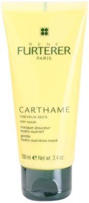 Rene Furterer Carthame хидратираща и подхранваща маска  за суха коса