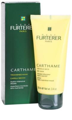Rene Furterer Carthame hydratační a vyživující maska pro suché vlasy 1