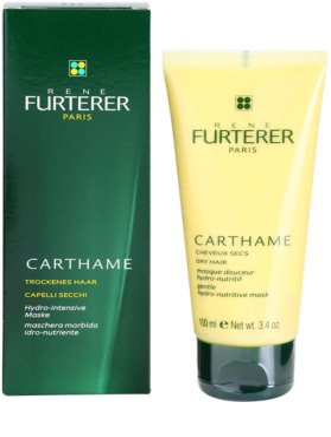Rene Furterer Carthame хидратираща и подхранваща маска  за суха коса 2