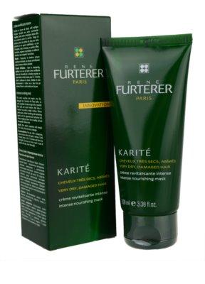 Rene Furterer Karité поживна маска для дуже сухого та пошкодженого волосся 1