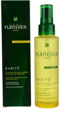 Rene Furterer Karité óleo para cabelo seco a danificado 1
