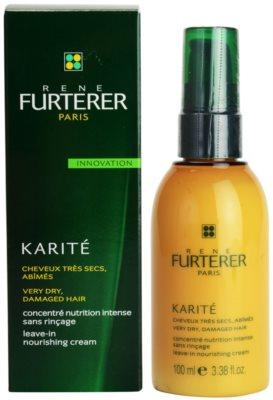 Rene Furterer Karité nicht auszuspülende cremige Pflege für trockenes und beschädigtes Haar 1