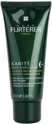 Rene Furterer Karité intenzivní noční péče pro suché a poškozené vlasy