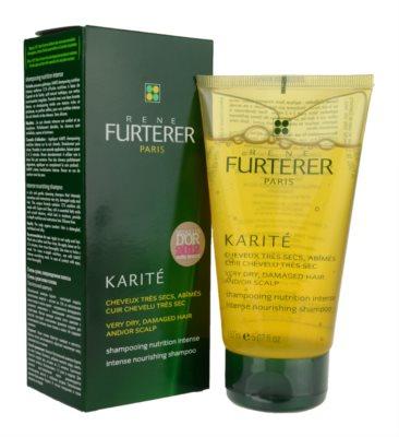 Rene Furterer Karité Shampoo mit ernährender Wirkung für trockenes und beschädigtes Haar 1