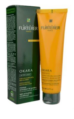 Rene Furterer Okara Active Light máscara nutritiva para cabelo loiro e com madeixas 1