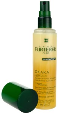 Rene Furterer Okara Active Light spray para cabello teñido 1