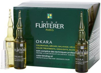 Rene Furterer Okara zaščitna nega pri barvanju las za povečanje intenzivnosti barve