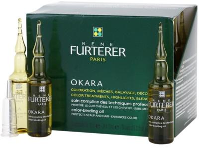 Rene Furterer Okara захисний догляд при фарбуванні волосся для підвищення інтенсивності кольору волосся