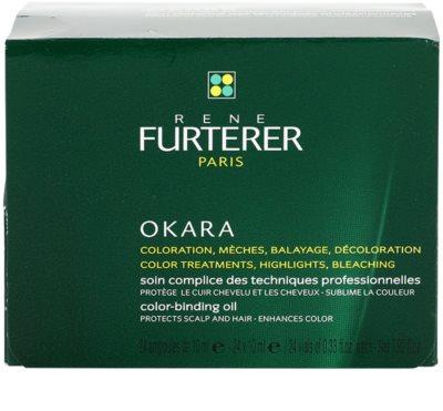 Rene Furterer Okara захисний догляд при фарбуванні волосся для підвищення інтенсивності кольору волосся 3
