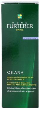 Rene Furterer Okara Protect Color champú suave plata neutralizante para tonos amarillos 3