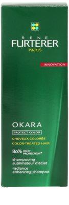Rene Furterer Okara Protect Color šampon pro barvené vlasy 3