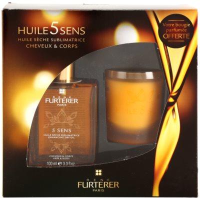 Rene Furterer Huile 5 Sens козметичен пакет  I.