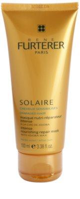 Rene Furterer Solaire intensive nährende Maske für durch Chlor, Sonne oder Salzwasser geschädigtes Haar