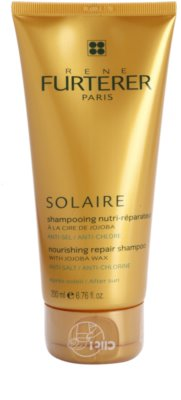 Rene Furterer Solaire подхранващ шампоан  за коса увредена от слънце, хлор и солна вода