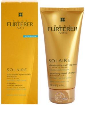 Rene Furterer Solaire подхранващ шампоан  за коса увредена от слънце, хлор и солна вода 1