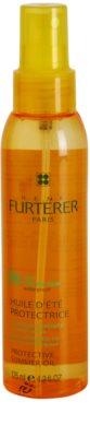 Rene Furterer Sun óleo protetor para cabelo danificado pelas ações do sol, cloro e sal
