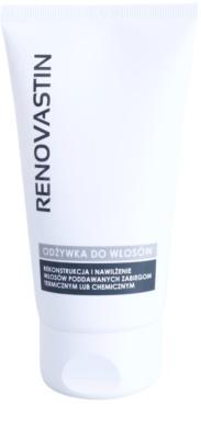 Renovastin Hair Care condicionador restaurador para o cabelo danificado e quimicamente tratado com efeito hidratante