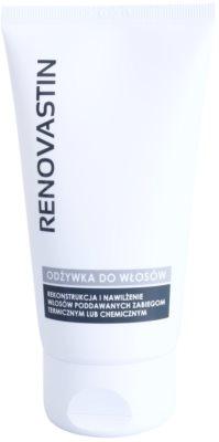 Renovastin Hair Care obnovitveni balzam za poškodovane lase in toplotno oblikovanje las z vlažilnim učinkom