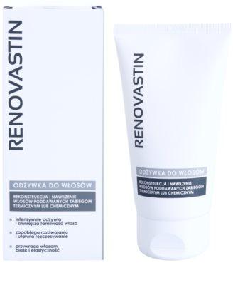 Renovastin Hair Care obnovitveni balzam za poškodovane lase in toplotno oblikovanje las z vlažilnim učinkom 1