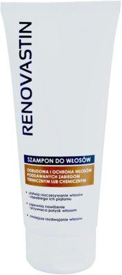 Renovastin Hair Care champô renovador para reforçar e dar brilho ao cabelo
