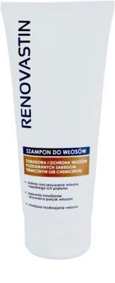 Renovastin Hair Care champú reparador para fortalecimiento y brillo de cabello
