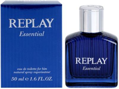 Replay Essential Eau de Toilette para homens