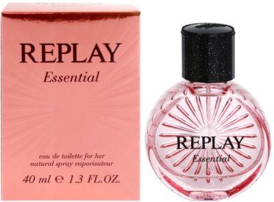 Replay Essential Eau de Toilette para mulheres