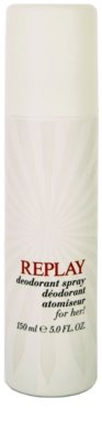 Replay for Her deodorant Spray para mulheres