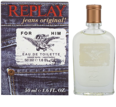Replay Jeans Original! For Him Eau de Toilette pentru barbati