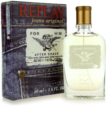 Replay Jeans Original! For Him after shave para homens 1