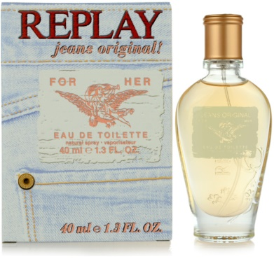 Replay Jeans Original! For Her Eau de Toilette für Damen