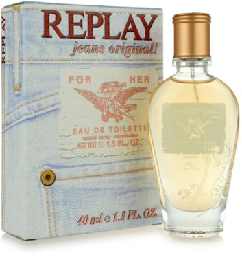Replay Jeans Original! For Her Eau de Toilette für Damen 1