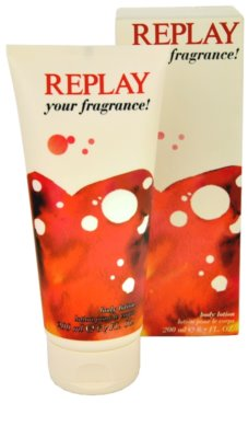 Replay Your Fragrance! For Her leite corporal para mulheres