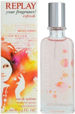 Replay Your Fragrance! Refresh For Her Eau de Toilette pentru femei