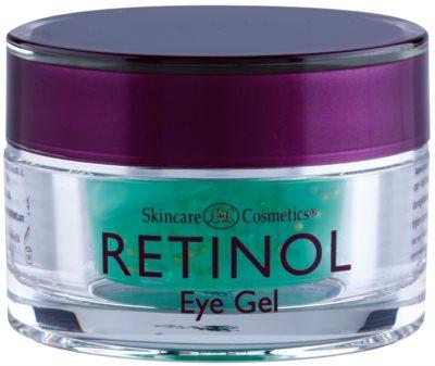 Retinol Anti-Aging gel para contorno de ojos antiarrugas