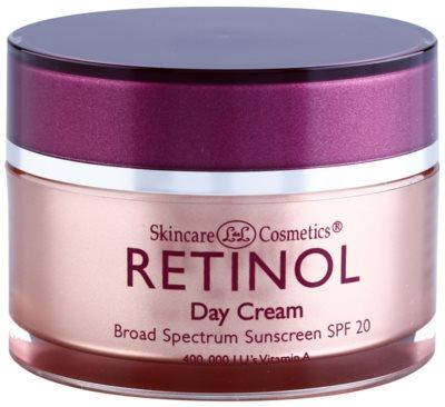 Retinol Anti-Aging denní ochranný krém proti stárnutí pleti SPF 20