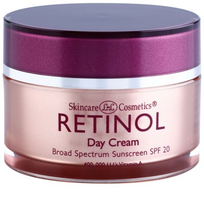 Retinol Anti-Aging dnevna zaščitna krema proti staranju kože SPF 20