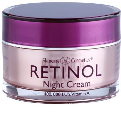 Retinol Anti-Aging ráncfeltöltő éjszakai krém az öregedés jelei ellen