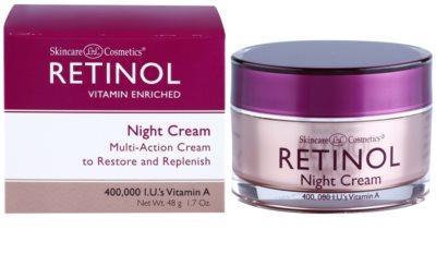 Retinol Anti-Aging ráncfeltöltő éjszakai krém az öregedés jelei ellen 2
