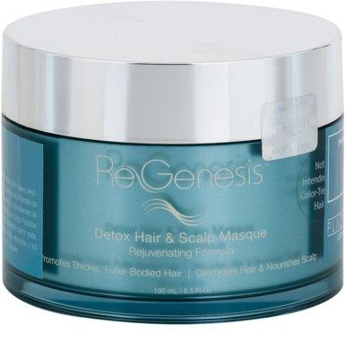RevitaLash ReGenesis Rejuvenating Formula méregtelenítő maszk a hajra és a fejbőrre