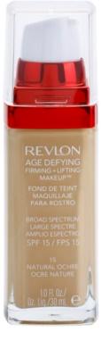 Revlon Cosmetics Age Defying зміцнюючий тональний крем-ліфтінг SPF 15