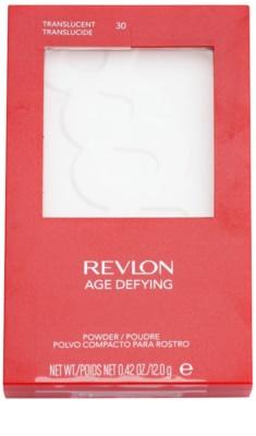 Revlon Cosmetics Age Defying polvos transparentes  con espejo y aplicador 1