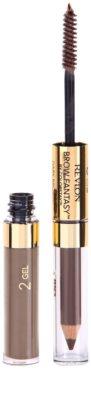 Revlon Cosmetics Brow Fantasy creion gel pentru sprancene 2 in 1 1