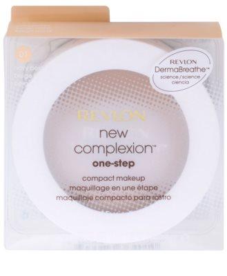 Revlon Cosmetics New Complexion™ компактен грим  SPF 15 3